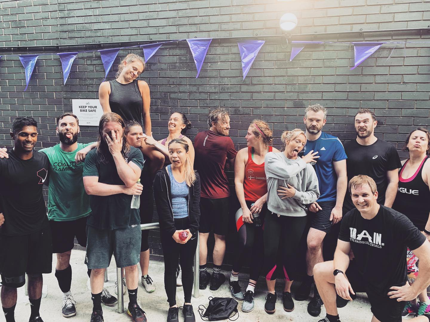 Crossfit London: finding a great community.