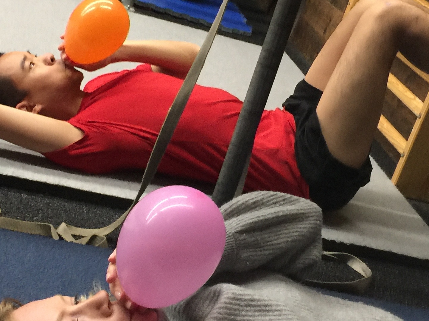 Calisthenics and the 90/90 balloon drill